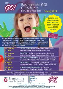 Basingstoke Minis Spring timetable 2014PDF
