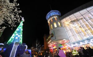 2015 Festive Place Christmas Lights Switch on in Festival Square. pic by Sarah Gaunt. taken 13.11.15 Photos for Festival Place. SARAH GAUNT PHOTOGRAPHY 07931900834